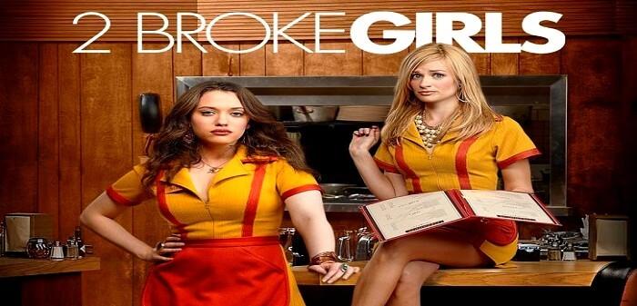 2 Broke Girls - yabancı komedi dizileri