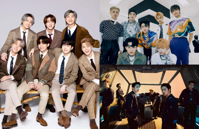 Gaon Chart Şimdiye Kadar En Çok Satan K-pop Gruplarını Açıkladı