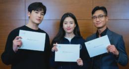 Park Hyung Sik ve Han Hyo Joo: 'Happiness' İlk Senaryo Okumasında Harika Ekip Çalışmasını Gösterdi