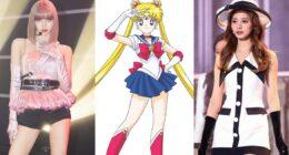 Bu 5 Kadın K-Pop İdolü Sailor Moon Animesi ile Karşılaştırıldı