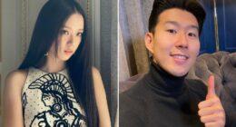 BLACKPINK Jisoo, Futbolcu Son Heung Min ile Sevgili Olduğu Söylentisine Karıştı