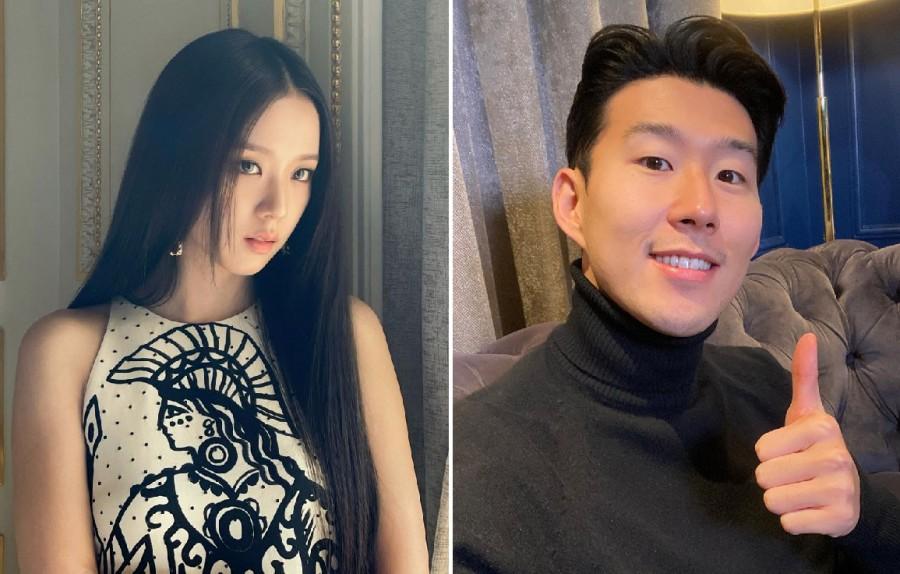 BLACKPINK Jisoo, Futbolcu Son Heung Min ile Sevgili Söylentisine Karıştı