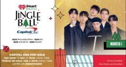 MONSTA X, Yaklaşan iHeartRadio Jingle Ball Tur için Sahne Alacak