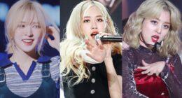 Saçlarını Sarıya Boyamak için Doğmuş 9 Kadın K-Pop İdolü
