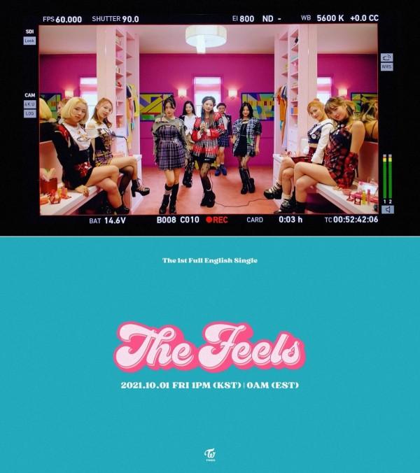 TWICE 'The Feels' Billboard'un Hot 100 Listesine İlk Kez Girdi