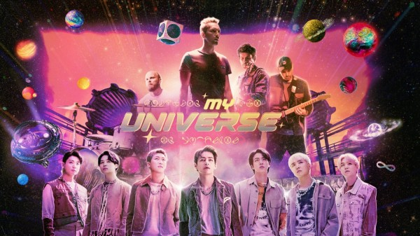 bts ve coldplay my universe